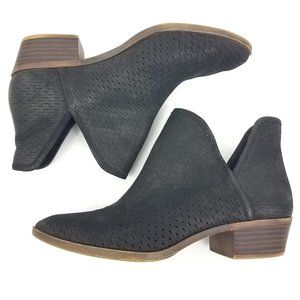 Lucky Brand | Baley Black Suede Ankle Bootie